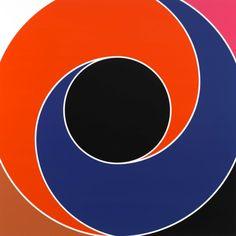 Sarah Morris Paintings Called Spiral