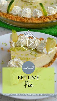 Key Lime Desserts, Summer Desserts, Easy Desserts, Delicious Desserts, Dessert Recipes, Lime Recipes, Sweet Recipes, Bar Recipes, Deserts