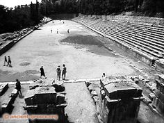 Delphi Stadium: Built in the 5th c. B.C. It could seat up to 6500 people. It not only serviced for the greek athletic games, it also was the hosting place for music festivals.