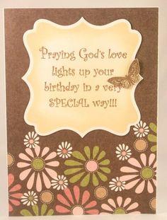 Christian birthday wishes birthday wishes guru pinterest handmade christian birthday card for women or girls m4hsunfo