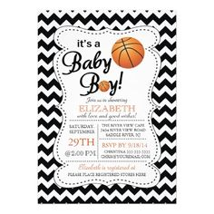 473 best sports baby shower invitations images on pinterest in 2018 its a baby boy basketball baby shower invitation filmwisefo