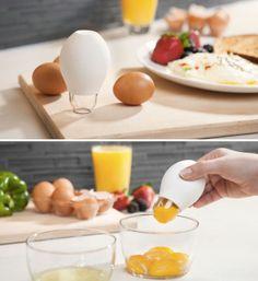 Pluck - An Egg White Separator!