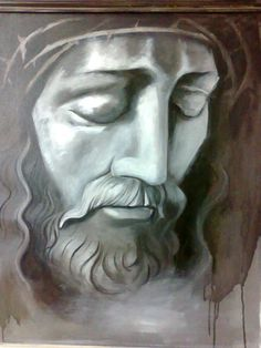 Original Religious Painting by Albert Ashok Jesus Christ Statue, Jesus Christ Painting, Jesus Art, Jesus Crucifixion, Original Paintings, Original Art, India Painting, Crown Of Thorns, Figurative Art