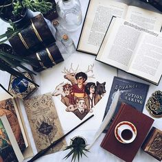 Imagen de harry potter and book