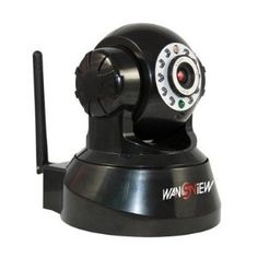 WanView Wireless IP Pan/Tilt/ Night Vision Internet Surveillance Camera Built-in Microphone With Phone remote monitoring support @ $51.