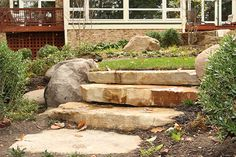 Project Gallery for Natural Stone and Paver Steps, Techo-Bloc,Belgard,Nicolock