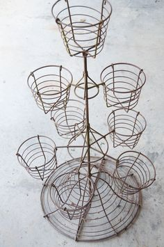 how to make diy wire baskets for plants