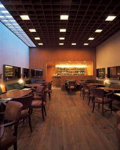 Márcio Kogan e Isay Weinfeld: Hotel Fasano - Piano-bar Baretto, São Paulo