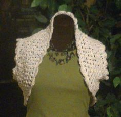 Crochet Summer Bolero. Shrug - Crocheting With Niler