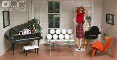 Cindy Whiteside Barbie Dioramas   Flickr - Photo Sharing!