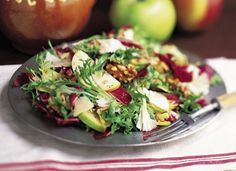 Winter Salad With Apples And White Cheddar | W Dish