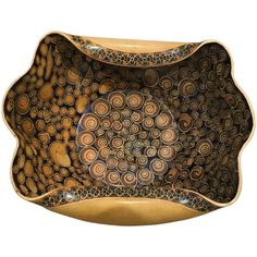 Zsolnay Bowl Attributed to Jozsef Rippl-Ronai