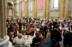 Inside the wedding banquet of CP Victoria and Prince Daniel. June 2010