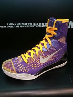 Nike Kobe 9 Elite 'Purple Court'