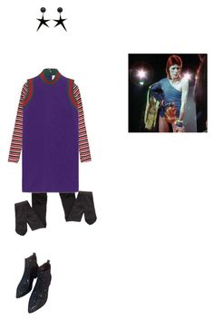zigahzigahzahrababah by thisisnotmyname on Polyvore featuring Gucci, Edith A. Miller, WithChic, Marni, women's clothing, women's fashion, women, female, woman and misses