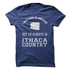 Arizona 4 Ithaca Country! - #gift ideas for him #shirt prints. MORE INFO => https://www.sunfrog.com/Sports/Arizona-4-Ithaca-Country.html?id=60505