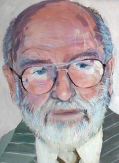 Portret van oude man