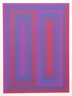 From RoGallery, Richard Anuszkiewicz, Sequential X from the Sequential Portfolio Serigraph, 28 × 21 in Artist Painting, Painting Prints, Art Prints, Plum Art, Opt Art, Graphic Design Resume, Photo Sculpture, Color Theory, Artsy Fartsy