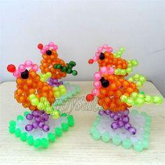 Beaded-weaving Cute Mini Birds beadwork for kids showcase decor Xmas gift
