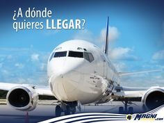 ¡En #Magnicharters volamos para alcanzar tus sueños!
