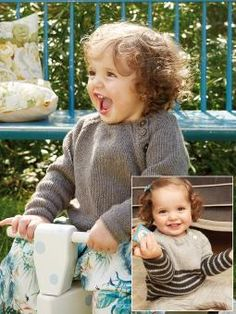 Snowberry Free Raglan Sweater Baby Knitting Pattern. This perfectly cute sweater for little ones by Martin Storey is worked in our Cashmere yarn, a beautifully soft blend of 95% cashmere and 5% wool. Featuring a horizontal stripe pattern and a side button fastening, this design is also available in a single colour option. Free Pattern (Requires Login)