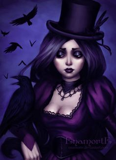 Miss Crow by *Enamorte on deviantART