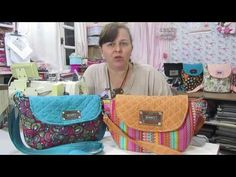 Santa Receita   Aprenda a fazer uma linda bolsa carteiro com Del Carmen - 20 de junho de 2016 - YouTube