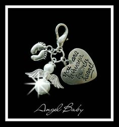 Check out this item in my Etsy shop https://www.etsy.com/listing/231948081/baby-memorial-charm-baby-lossmiscarriage