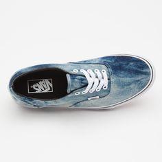 dca9ec4ec1 Vans Era Acid Wash Denim Pack Blue authentic trainers otw van doren supreme