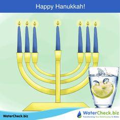 Happy Hanukkah! www.watercheck.biz