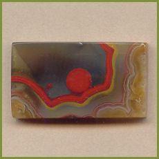 PAR309cc Paint Rock (Kentucky Agate) cabochon