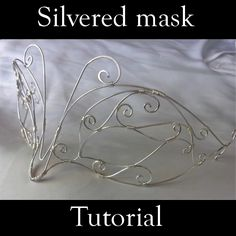 Silvered mask | JewelryLessons.com