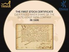 Image result for east india stock East India Company, Trivia, Certificate, Dutch, War, Money, People, India, Dutch Language