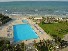 View from our room - Hotel Del Levante in Torre Canne