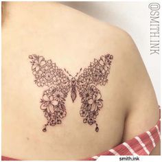 Tatuaggio farfalla - Butterfly tattoo #tat #tats #tattoo #tattooed #ink #inked #butterfly #butterflytattoo #naturetattoo #animaltattoo #fly #tattooideas Nature Tattoos, Tatting, Butterfly, Ink, Bobbin Lace, Needle Tatting, Bowties, Needlework, Butterflies