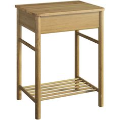 Mode South Bank natural wood washstand and top