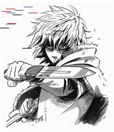 "cathianemelian: ""Finally, Vinland Saga is here and the first three episodes we. Otaku Anime, Manga Anime, Anime Art, Anime Meme, Anime Guys, Viking Character, Character Art, Character Design, Vinland Saga Manga"