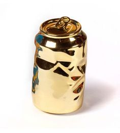 Gold Soda Can