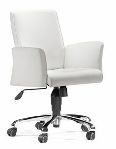 Metro Office Chair in White