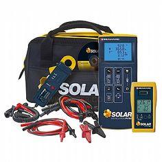 PV-150 Solarlink Kit קיט לבדיקת מערכות סולאריות, סט מלא לבדיקת מתקנים סולאריים: בדיקת בידוד, זרם, הספק, עוצמת קרינה, זוית, רציפות הארקה, טמפרטורות פנל, טמפרטורת סביבה.