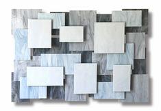 Glacial Accent Piece by Karo Martirosyan (Art Glass Wall Sculpture) Modern Wall Sculptures, Metal Wall Sculpture, Glass Wall Art, Stained Glass Art, Glass Tiles, Modern Wall Decor, Metal Wall Decor, Glass Art Pictures, Coral Art