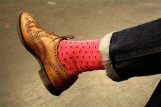 Do I spot watermelon socks!