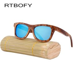 >> Click to Buy << RTBOFY Fashion Wood Sunglasses Men And Women Polarized New Brand Wooden Sunglasses High Quality Bamboo Frame in Stock UV400 #Affiliate