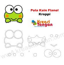 Hasil gambar untuk pola boneka flanel