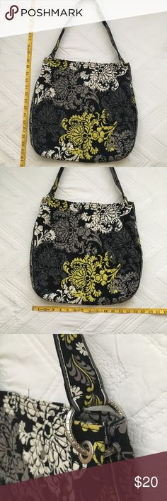 Vera Bradley Baroque pattern bag Good, used condition. See photos for measurements. Small hole on inside of bag shown in photos, not visible on outside. Vera Bradley Bags Totes