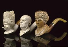 meerschaum carved pipes