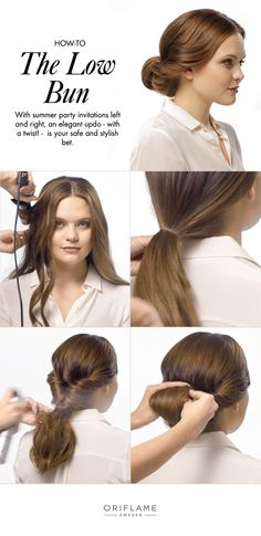 With summer party invitations left and right, an elegant updo - with a twist! -  is your safe and stylish bet.