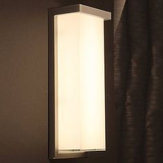 Illuminating both exterior and interior spaces, Modern Forms Ledge Indoor/Outdoor LED Wall Sconce offers versatility in a clean, contemporary look. Constructed from aluminum, the Ledge Exterior Lighting, Outdoor Wall Lighting, Outdoor Walls, Modern Lighting, Lighting Design, Indoor Outdoor, Lighting Ideas, Landscape Lighting, Outdoor Areas