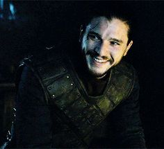 This is the happiest we've seen Jon Snow since he left Winterfell