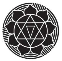 GAYATRI YANTRA - represents the illumined mind and far-sighted wisdom. Representing the words and sounds of the Gayatri Mantra, one of the most powerful Vedic affirmations, it removes the possibility of making wrong choices in life by empowering all truth. Calling upon Infinite Creation to enlighten all living beings, the symbol focalizes complex and cosmic wisdom about all earth elements, making an understanding of the wholelife-creation available to all who view it.